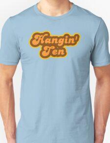 Hangin' Ten - Retro 70s - Logo Unisex T-Shirt