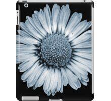 Retro Daisy in Blue iPad Case/Skin