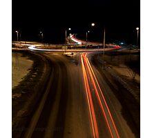 Vaasa E8 Roundabout Photographic Print