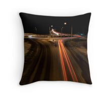 Vaasa E8 Roundabout Throw Pillow