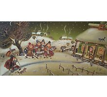 Christmas in the Balkans Photographic Print