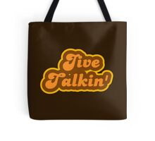 Jive Talkin' - Retro 70s - Logo Tote Bag