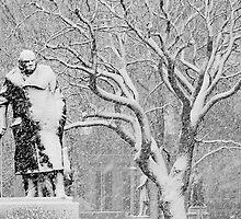 London Winston Churchill Statue by DavidGutierrez