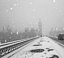 London Snow Storm by DavidGutierrez