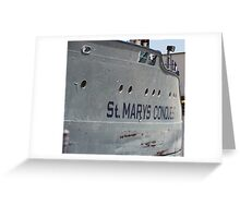 St. Mary's Conquest Greeting Card