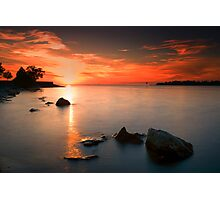 sunset beauty Photographic Print