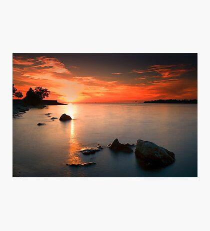 sunset beauty Photographic Print