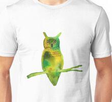 Horned Owl Unisex T-Shirt