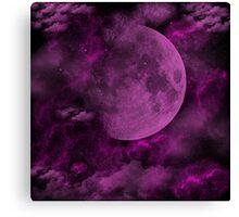 Planet Purple Canvas Print