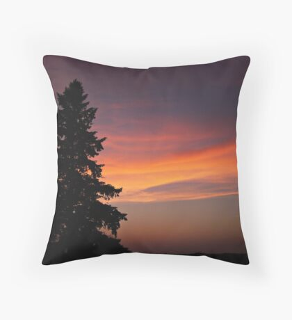 Lonesome Pine Throw Pillow