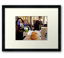 STARBUCKS Groupies Framed Print