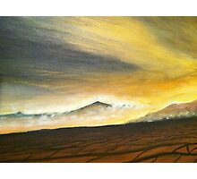 Desert wind Photographic Print