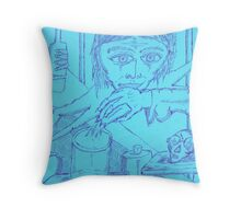 spiderwoman personified Throw Pillow