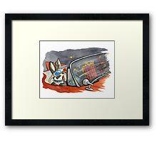 June Jackalope Framed Print