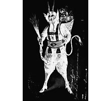 krampus Devil Photographic Print