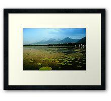 Dal Lake Srinagar Framed Print