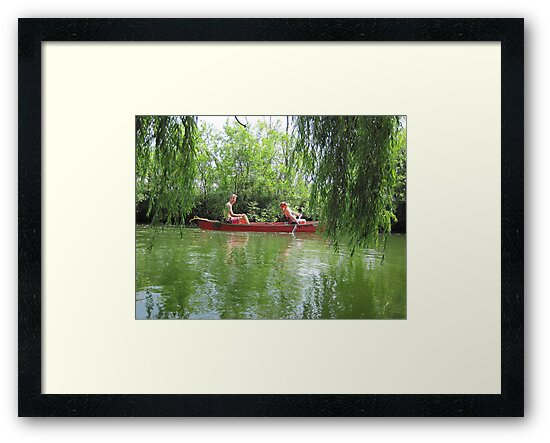 Canoeing on the Oconomowoc River by Thomas Murphy