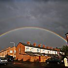 Somewhere Over The Rainbow by inkedsandra