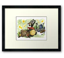 July Jackalope Framed Print
