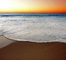 Beach At Sunset/Dusk - South of Western Australia by Toni Kane