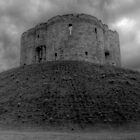 Clifford's Tower Mono by Mat Robinson
