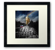 We are going to Russia! Framed Print