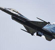Belgian F16 by traceyjjones