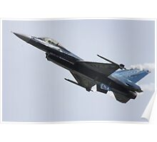 Belgian F16 Poster