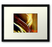 Funky Lights Framed Print