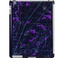 USGS Topo Map Oregon Gervais 280013 1957 24000 Inverted iPad Case/Skin