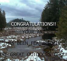 EXAMPLE BANNER FOR THE GREAT OUTDOORS GROUP CHALLENGE by linmarie