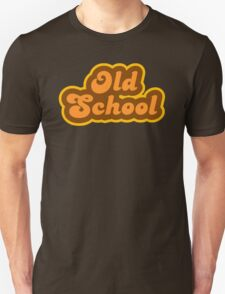 Old School - Retro 70s - Logo T-Shirt