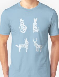 Moony, Wormtail, Padfoot & Prongs Unisex T-Shirt