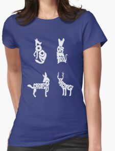 Moony, Wormtail, Padfoot & Prongs Womens Fitted T-Shirt