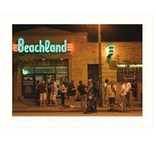 Beachland Ballroom Streetscape Art Print