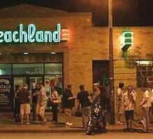 Beachland Ballroom Streetscape by Karen K Smith