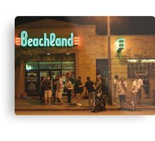 Beachland Ballroom Streetscape Metal Print