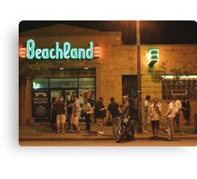 Beachland Ballroom Streetscape Canvas Print