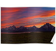 A Grand Sunset Poster