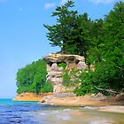 Pictured Rocks National Lakeshore / Chapel Rock 1 by Mark Bolen