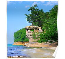Pictured Rocks National Lakeshore / Chapel Rock 1 Poster