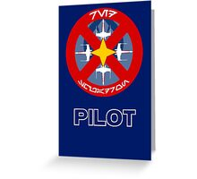 Star Wars Unit Insignia - Red Squadron Greeting Card
