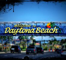Welcome to Daytona Beach. by Tigersoul