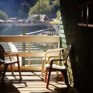 An Interrupted Conversation (Morning at Telegraph Cove) by EchoNorth