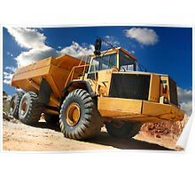 Earth Mover Poster