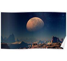 Martian Moons - Phobos Poster