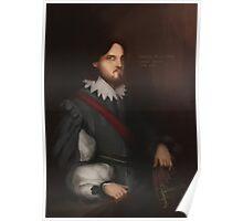 The Comte De La Fere Poster