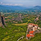 Greece. Meteora. Monasteries. by vadim19