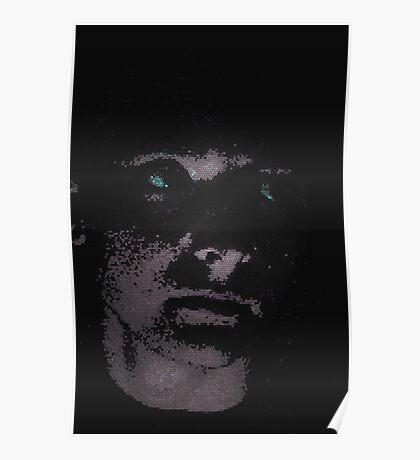 Pixel Faced Poster