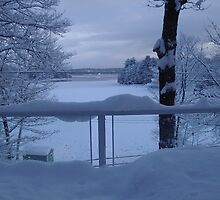 Winter Lake by Keeawe